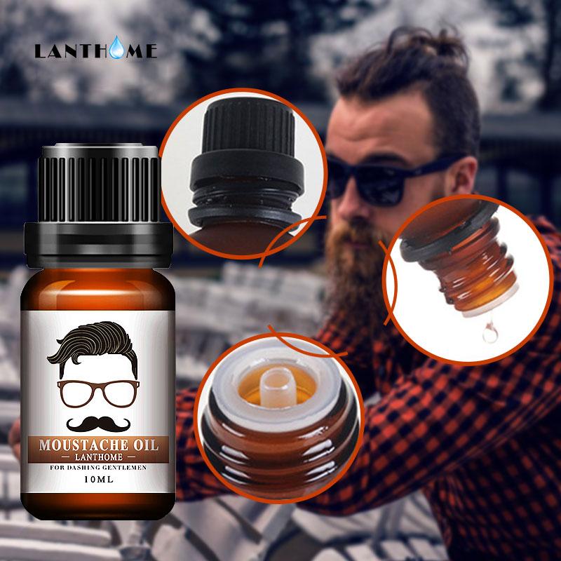 Professional Men Beard Growth Enhancer Herb Hair Growth Liquid Facial Nutrition Moustache Grow Serum Safe Hair Care Oil Islamabad
