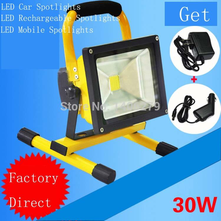 30W LED Outdoor Floodlight White/warm white Waterproof Emergency Floodlight LED Outdoor Spotlight LED Outdoor Lamp Light