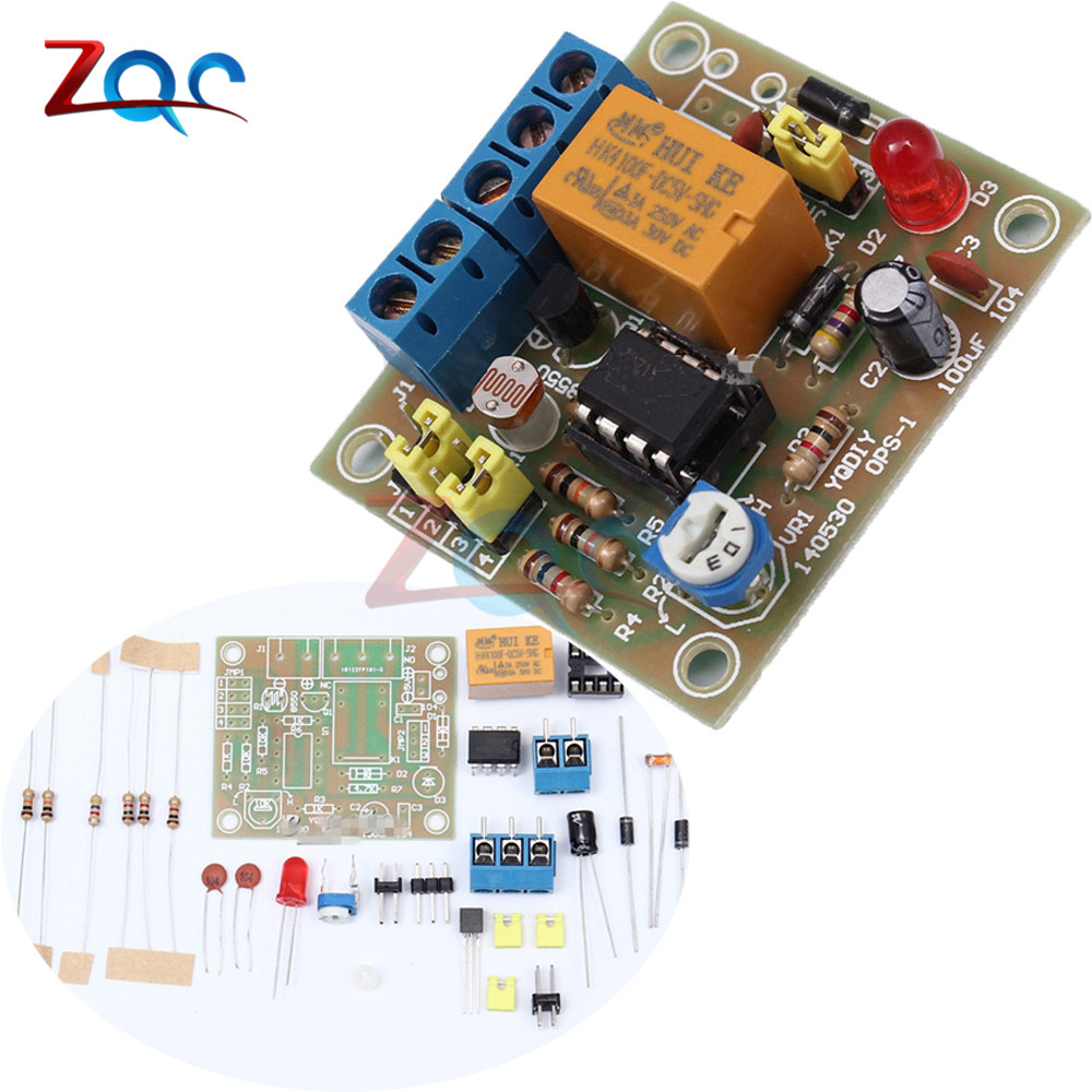 Electronic Dice Ne555 Cd4017 Diy Kit 5mm Red Leds 45 5v Icsk057a Circuit Using Ic Lm393 Light Operated Switch Control On Off Switching Module Photosensitive Suit Dc