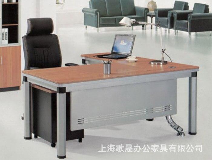 Fábrica de mobiliario de oficina directa directivos de acero mesa ...