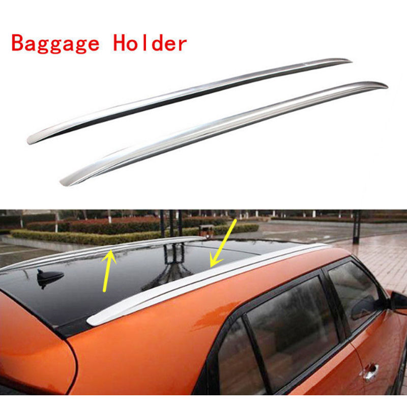 2PCS Silver Roof Rack Rack Car Roof Carrier For IX25 2014 2015