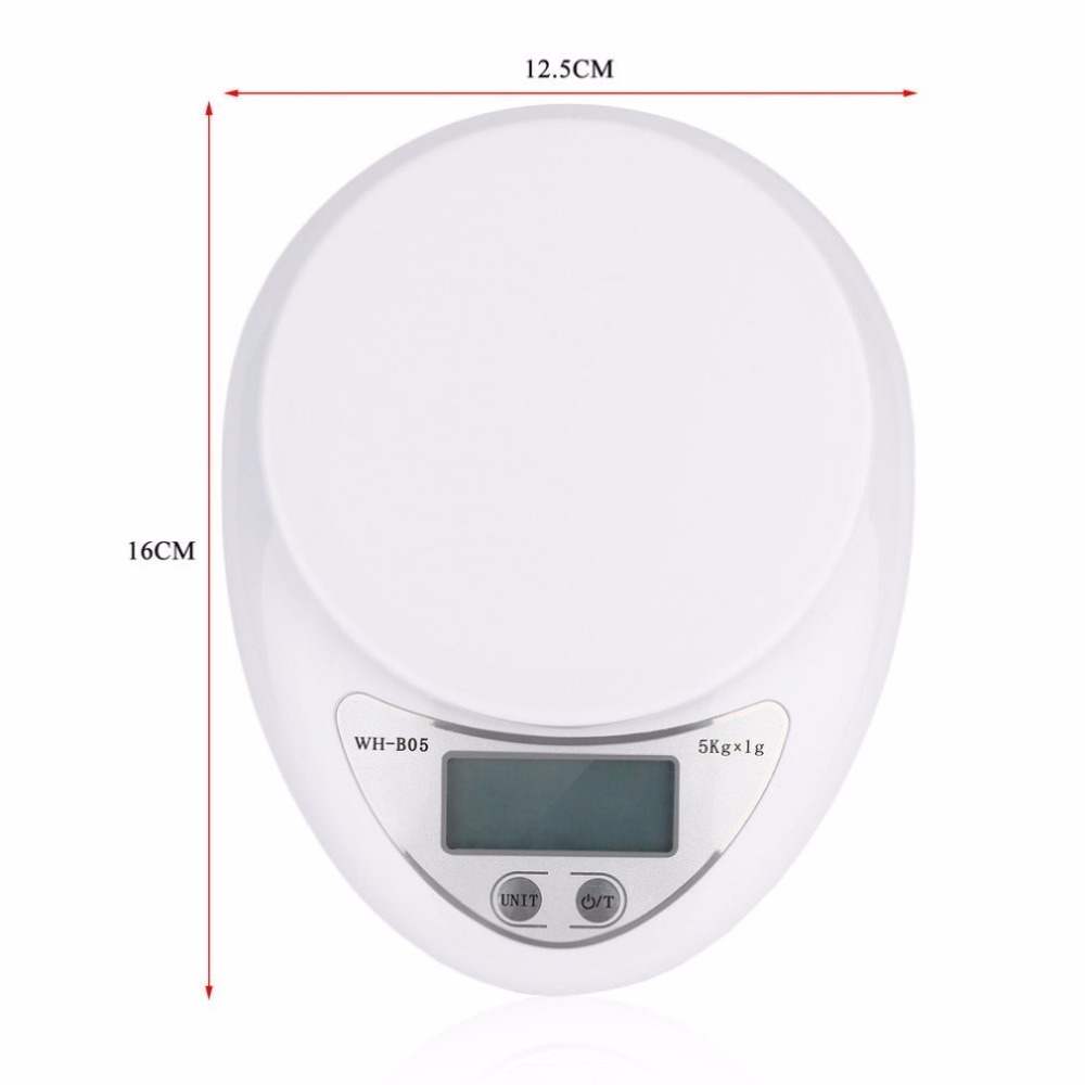 Hot Sale 5KG/1G Kitchen Scale Backlight Digital Electronic Scales ...