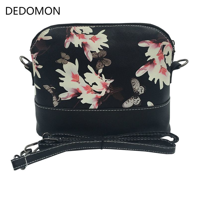 2019 Luxury Brand Lady Shoulder Bag Messenger Shell Shape Crossbody Handbag Waterproof Women Bag With Butterfly Dragonfly Floral2019 Luxury Brand Lady Shoulder Bag Messenger Shell Shape Crossbody Handbag Waterproof Women Bag With Butterfly Dragonfly Floral