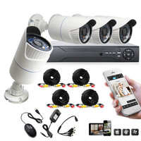 8CH 960H DVR Home Complete Security System P2P 4X1200TVL IR CUT Day Night CCTV Cameras Surveillance