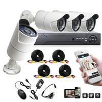 8CH 960H DVR Home Complete Security System P2P 4X1200TVL IR CUT Day Night CCTV Cameras Surveillance