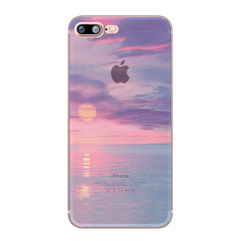 ciciber Beach Ocean Phone Cases for iPhone 11 Pro Max Cover For iPhone XR 8 7 6 6S Plus X XS Max 5S SE Soft TPU Shell Coque