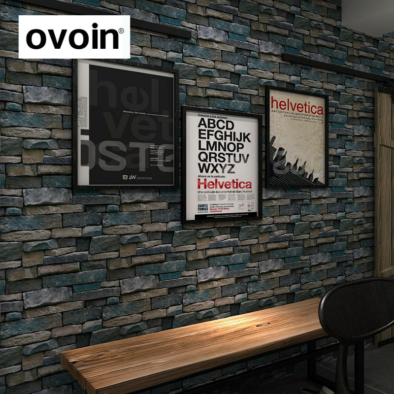 Vintage Rustic 3D effect Brick Wallpaper Roll For The Wall Stone Live Room Wall Paper DE PAPEL ROLL For Bedroom TV background
