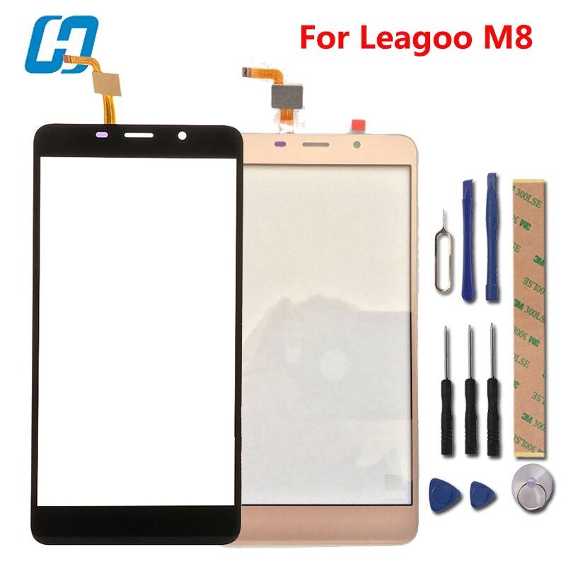Leagoo M8 Touchscreen hacrin 100% Neue Touch Digitizer Glasscheibe Ersatz Für Leagoo M8 Pro Smartphone Auf Lager