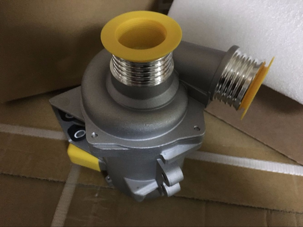 Electric Water Pump Thermostat BMW X3 X5 128i 328i 528i Z4 E60 E90 11517586925 new electric engine water pump 11517586925 for bmw x3 x5 328i 528i
