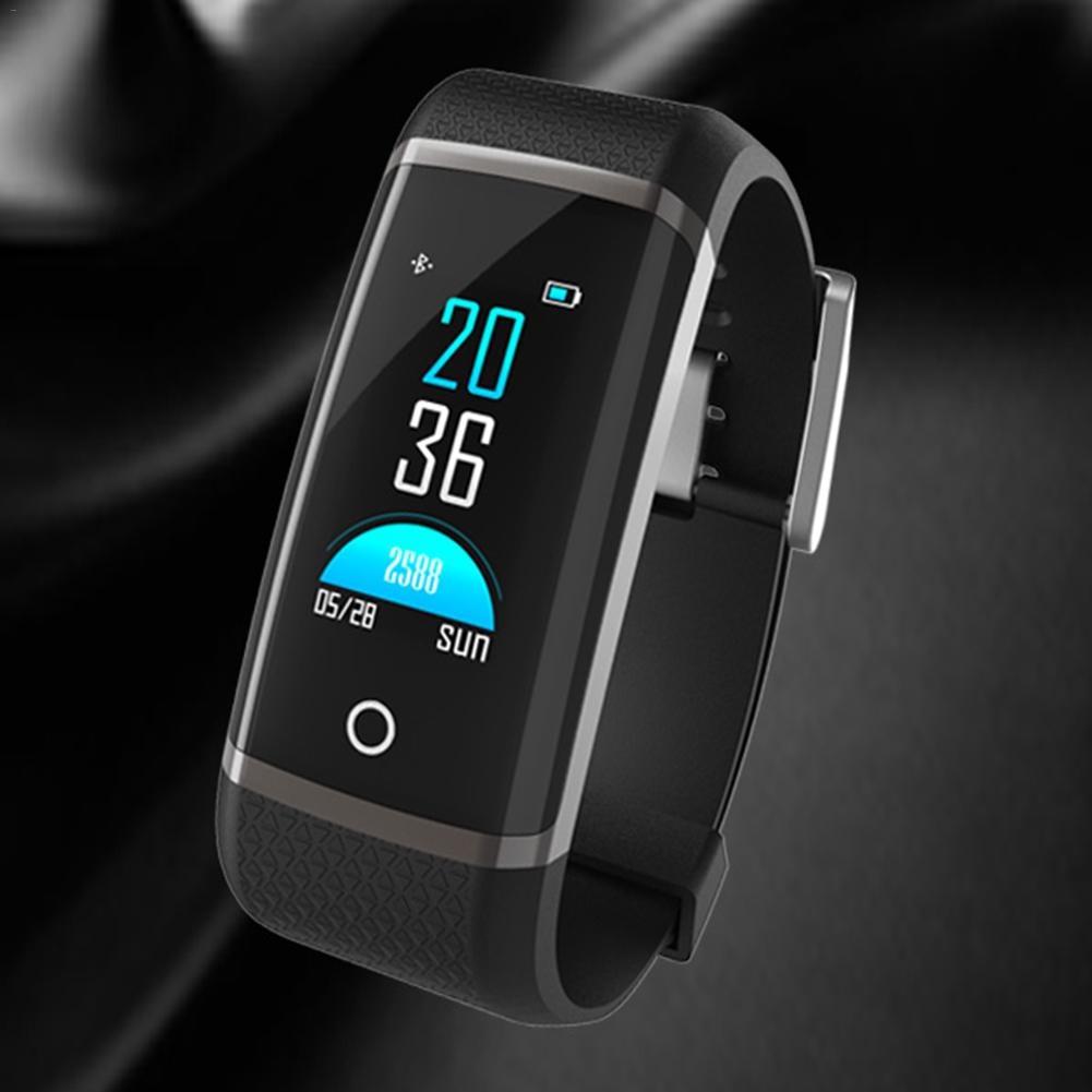 Лидер продаж Z19C Цвет Экран Smart Сердечного ритма кислорода в крови мониторинга Bluetooth шаг счетчик спортивный браслет VS для Miband 2