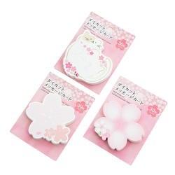 12 упак./лот японский вишня серии самоклеющиеся memo pad N раз Липкие заметки блокноты школьные принадлежности канцелярские