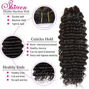 Image 5 - Braziliaanse Diepe Golf Bundels Met Sluiting 4*4 Freepart Menselijk Hair Extensions Braziliaanse Haar Weefsel Bundels Met Sluiting Remy haar