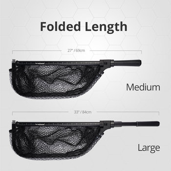 Awesome No1 KastKing Extendable Folding Fishing Net Fishing Accessories cb5feb1b7314637725a2e7: Large|Medium