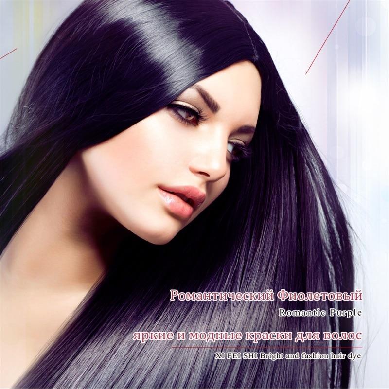 XI FEI SHI Lila Haarfärbemittel Aubergine Farbe Permanent - Haarpflege und Styling - Foto 5