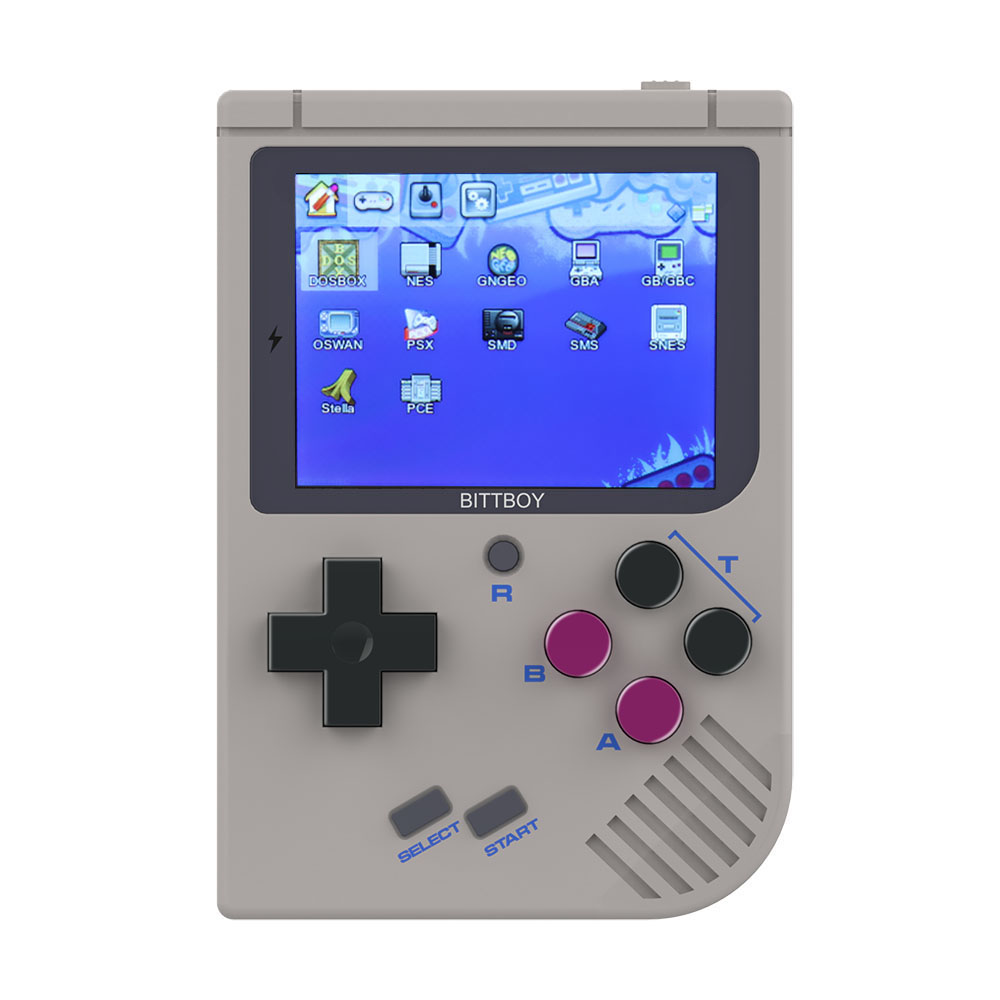 New BittBoy V3.5 Video Game Console Retro Handheld Save/Load Game Console +8GB MICRO SD CARD dial vision adjustable lens eyeglasses
