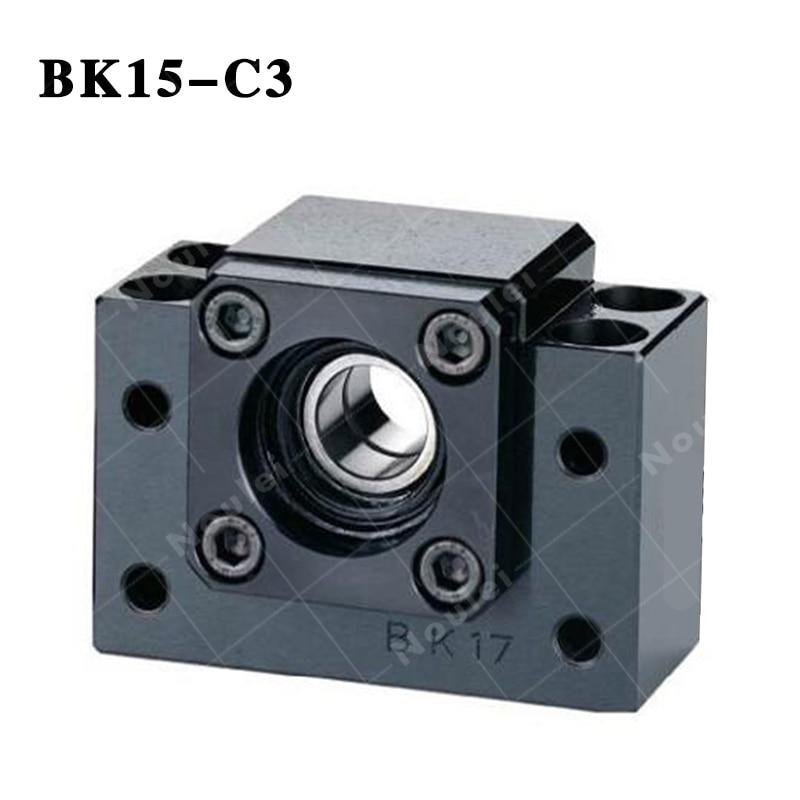 BK15 C3 and  Ballscrew Nut bracket  End Supports CNC 1pc fk20 and 1pc ff20 ballscrew end supports cnc
