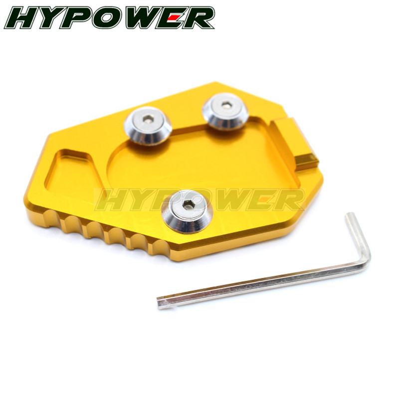 Automobiles /& Motorcycles Motorcycle Side Stand Kickstand Plate Pad for Honda Cbr1000Rr 2008-2016 2010 2012 2014 2015 Cbr1000 Rr CBR 1000Rr