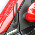 Высокое качество 12 см 4.7 дюймов Черный Короткие Углеродного Волокна Автомобилей Радио fm Антенна антенна подходит для Benz Smart Fortwo