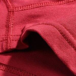 Image 4 - Givanildo 6 יח\חבילה מכנסיים גברים מתאגרפים תחתוני גברים מתאגרף סקסי הומו גזעי נוח אנטי בקטריאלי לנשימה XXXL Y813