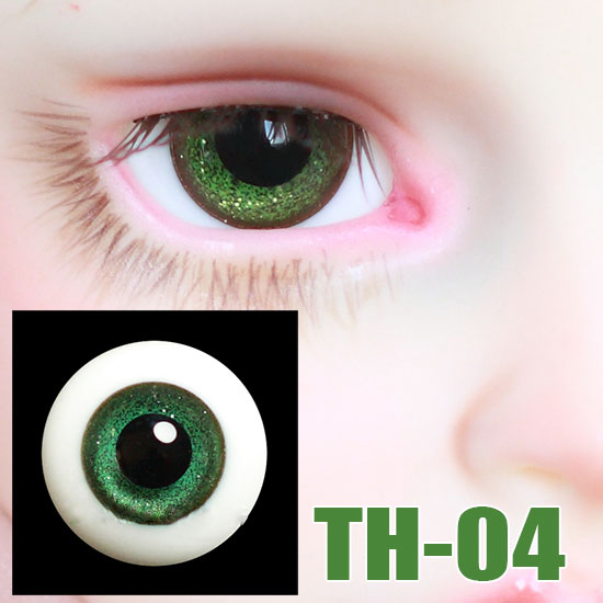 BJD doll DIY eyes shining black pupil green eyes for 1/3 1/4 1/6 BJD SD DD MSD Doll eyes doll accessories TH-04 stenzhornbjd doll sd doll 1 4 doll kid delf girl coco dd msd toy