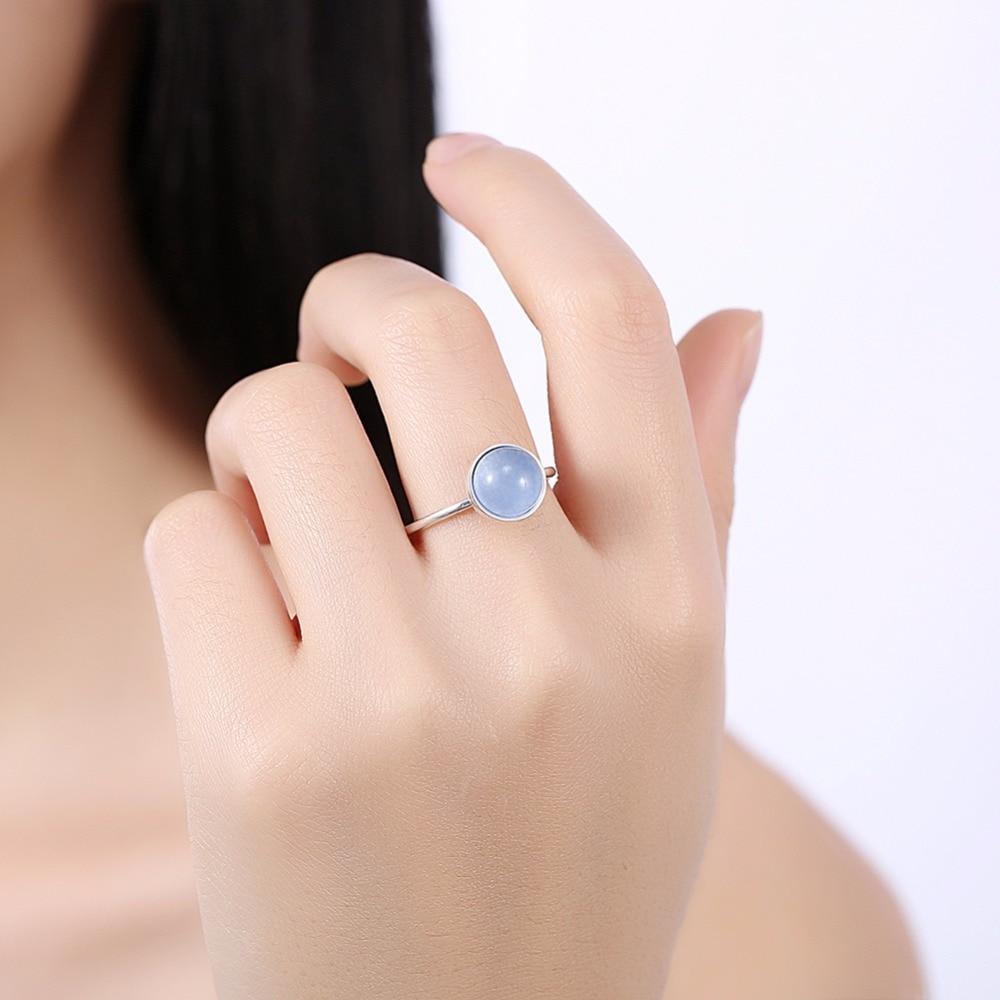 INALIS Classic Trendy Design S925 anillo de plata esterlina con luz - Joyas - foto 4