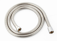 Stainless steel shower hose, sanitary water, explosion-proof spring shower, telescopic tube