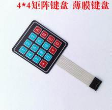 4*4 Matrix Array/Matrix Keyboard 16 Kunci Membran Beralih Keypad untuk arduino 4X4 Matrix Keyboard(China)