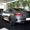 Edition 1 Car Hood Roof Racing Side Skirt Stripes Vinyl Decal Sticker for Mercedes Benz C63 Coupe W205 AMG C200 C250 Accessories promo