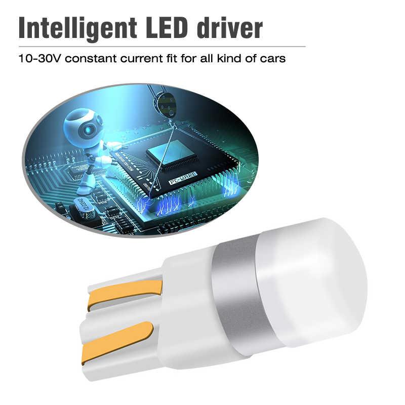 OKEEN автомобиля T10 Led Canbus 6000 K белый T10 w5w светодиодные лампы Led DRL поворотные парковочные Ширина внутренний купол лампа, лампа для чтения 12 V автомобильный Стайлинг