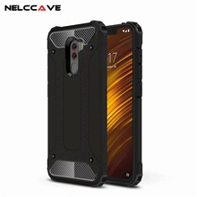Luxury Rugged Cover For Xiaomi Pocophone F1 Poco Anti Knock Phone Case Hybrid Hard Tough Dual Layer Armor Shockproof