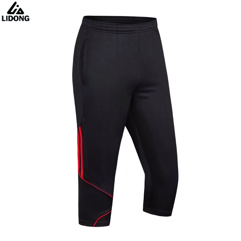 Men Soccer Training Pants Joggings Football Thin Pant Sports Running Fitness Basketball Football jog Trousers Sweatpants pocket