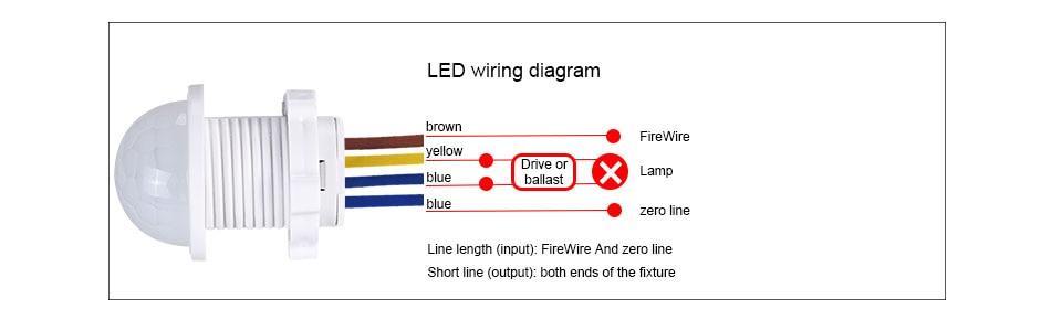 [SCHEMATICS_4LK]  Mini Closet PIR Sensor Detector Smart Switch 110V 220V LED PIR Infrared Motion  Sensor Detection Automatic Sensor Light Switch|Switches| - AliExpress | Light Sensor Wiring Diagram 110 |  | www.aliexpress.com