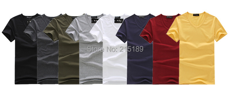 Popular T Shirts Plain Colors-Buy Cheap T Shirts Plain Colors lots ...
