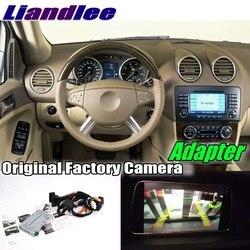 Tylna kamera cofania samochodu adapter interfejsu dekoder zestawy do Mercedes Benz M ML MB W164 2005 ~ 2011 aktualizacja systemu NTG w Kamery pojazdowe od Samochody i motocykle na