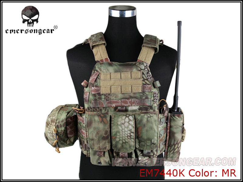 Sports & Entertainment Emersongear Lbt6094a Style Tactical Vest With 3 Pouches Hunting Airsoft Military Combat Gear Mandrake Em7440k To Ensure Smooth Transmission
