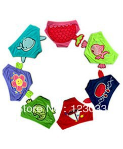 Baby mini swimming trunks / Child Infant swimsuit girls cartoon pants boys' swimwear - jianbing wang's store