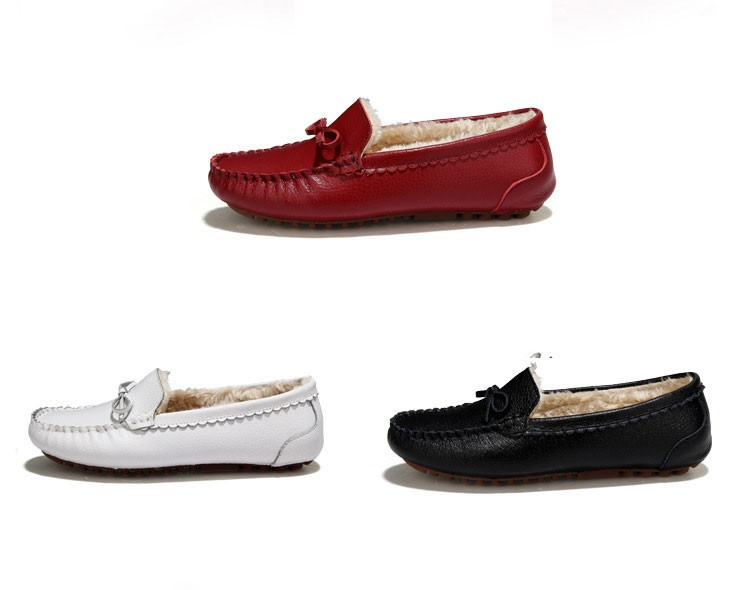 AH 5710  (2) women winter loafers
