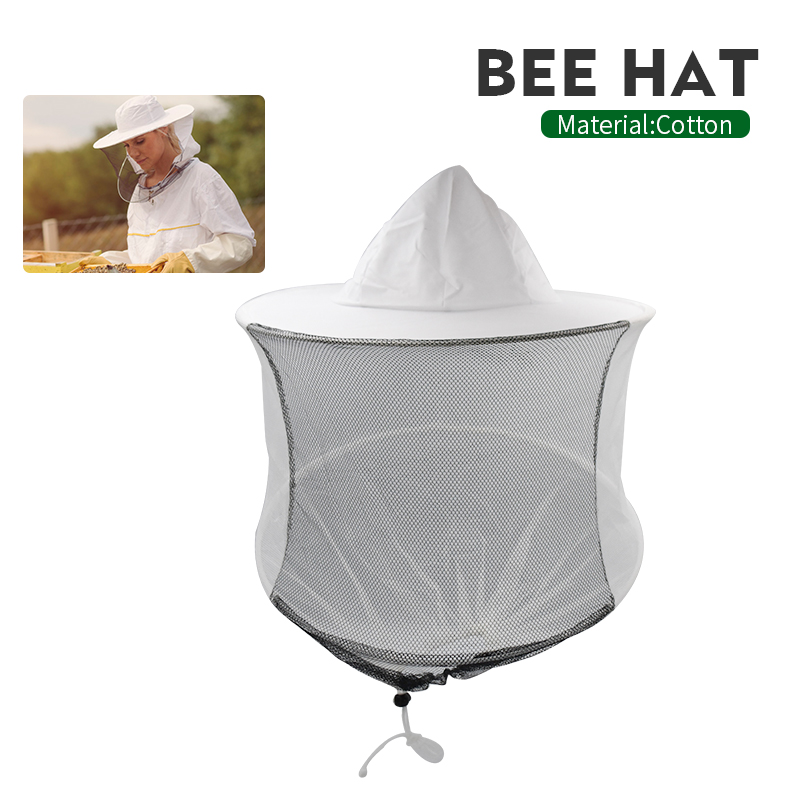 Brand Plastic Steel Double Ring Hat Beekeeper Bee Keeping Suitble for Mesh Hat Insects Mosquito Preventio Beekeeping Hat(China)