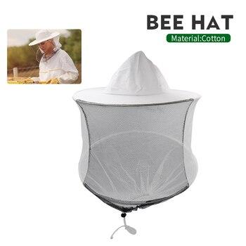 Marca de sombrero con anilla doble de acero y plástico, apicultor, Apicultura, apicultura, adecuado para RED, sombrero, insectos, mosquitera, evientio