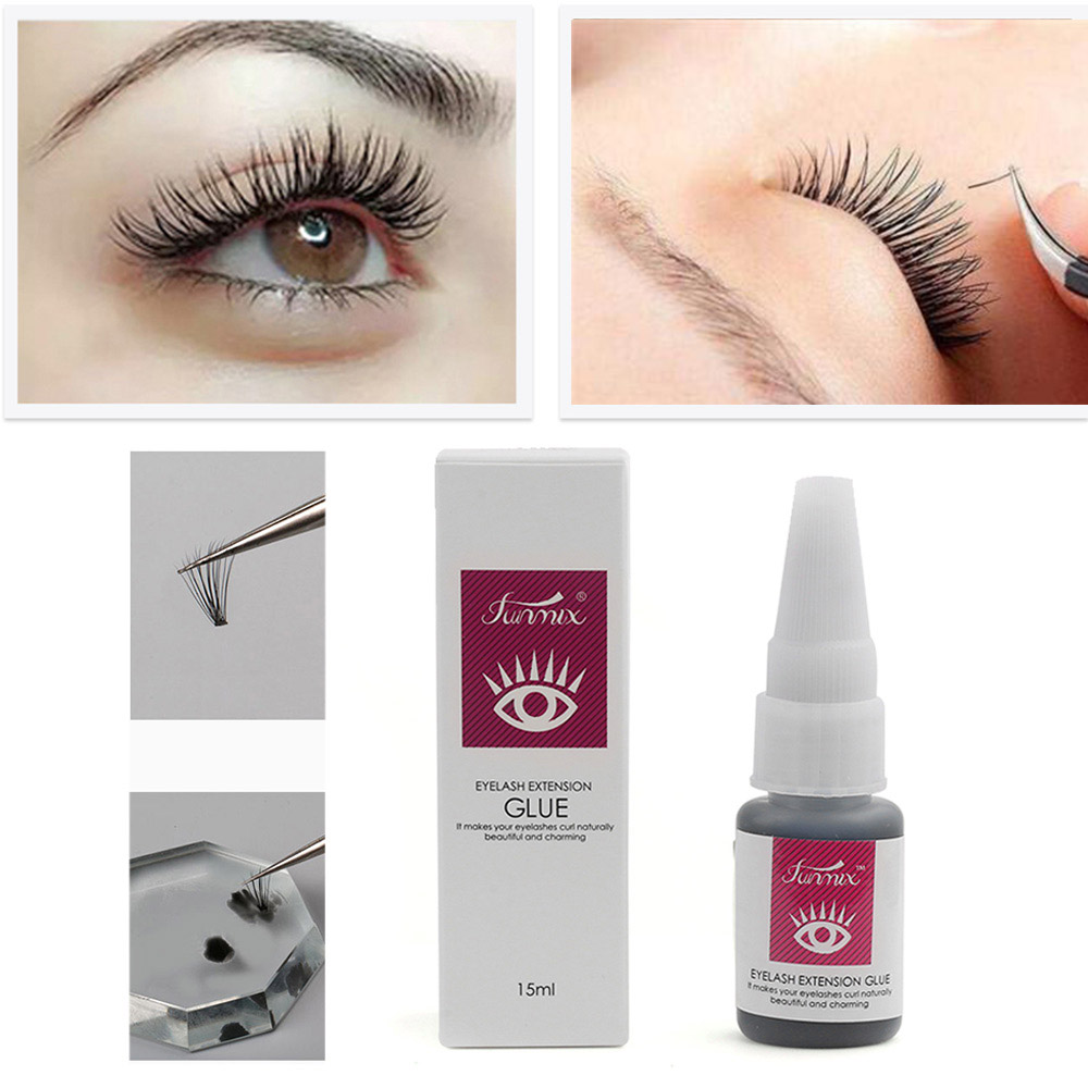 341d01f550a 15 ml Long Lasting 30 Days Glue False Eye Lash Eyelashes Adhesives  Professional Long lasting Extensions