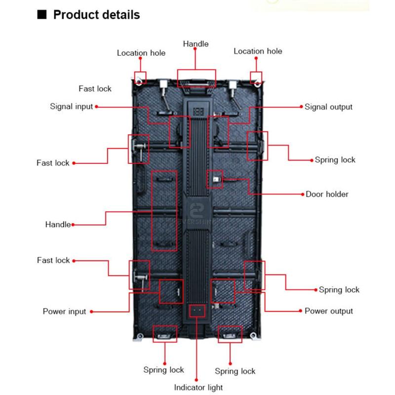 Xarici P6.25mm Tam Rəngli İcarə Mərhələ Ekranı LED Ekran - LED işıqlandırma - Fotoqrafiya 3