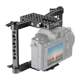 Image 4 - Panasonic gh4/gh3/gh2/sony a7/a7ii/canon/nikon 1630 용 가변 막대가있는 smallrig versaframe 카메라 케이지