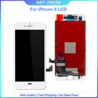 10PCS/LOT OEM AAA Screen For iPhone 8 8G LCD Display 3D Touch Digitizer Assembly 100% Tested No Dead Pixels Replacement Free DHL