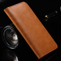 5 5 General Luxury Genuine Leather Flip Mini Purse Pouch Handwork Wallet Phone Case For HTC