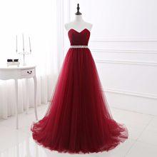 d872acb15951a Popular Burgundy Tulle Wedding Gown-Buy Cheap Burgundy Tulle Wedding ...