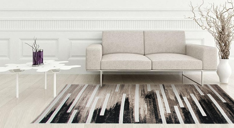 yoosa moderne bande nordique tapis tapis pour salon canap table chambres mnage lavable grand tapis salon dcoration - Grand Tapis Salon