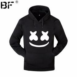 Marshmello Smiley Face Hoodies Men Hip Hop Fashion Streetwear Hoodie SweatshirtS M-3XL Hoodied Man Tops Brand Clothes 1