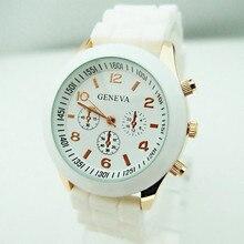 Top de Luxo Da Marca de Silicone relógio de quartzo homens mulheres senhoras moda bracelt Relógio de pulso relógio de pulso relogio feminino masculino