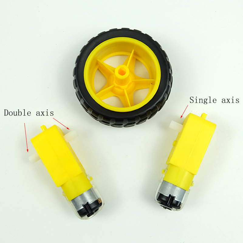 1pcs <font><b>DC</b></font> TT <font><b>Motor</b></font> Smart Car Robot Gear <font><b>Motor</b></font> for arduino Diy Kit Wheels Smart Car Chassis <font><b>Motor</b></font> Robot Remote Control Car image