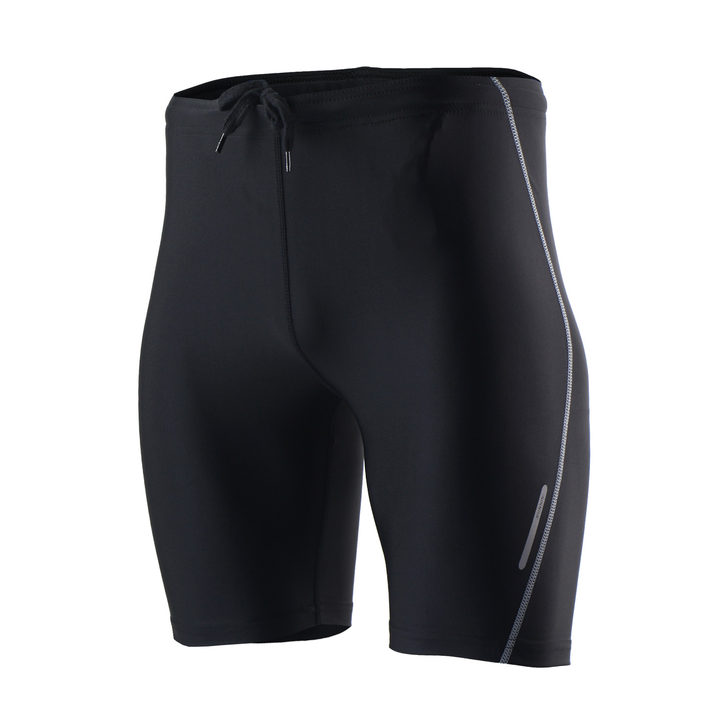 Arsuxeo Summer Short Running Tights With Waist Rope And -3828